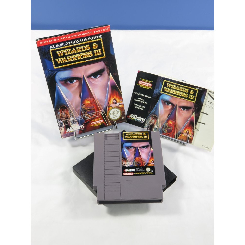 WIZARDS & WARRIORS III NES PAL-B FRA OCCASION