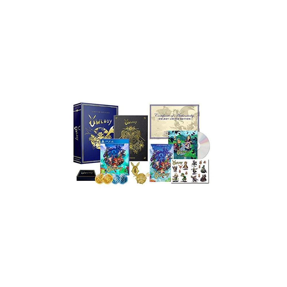 OWLBOY EDITION LIMITEE PS4 FR NEW