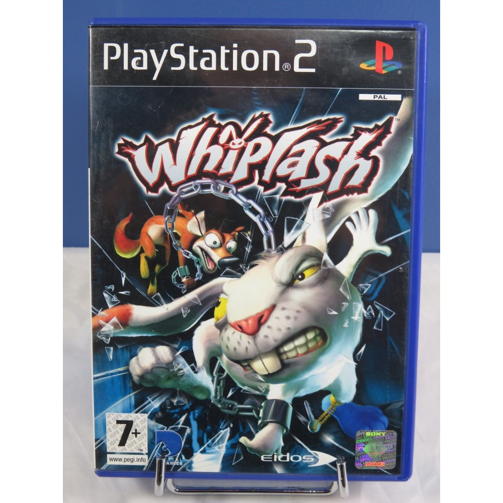 WHIPLASH PS2 PAL-FR OCCASION (ETAT B)