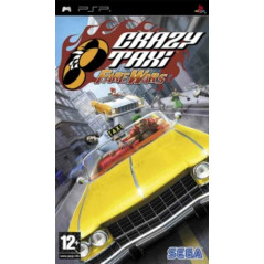 CRAZY TAXI: FARE WARS PSP FR OCCASION