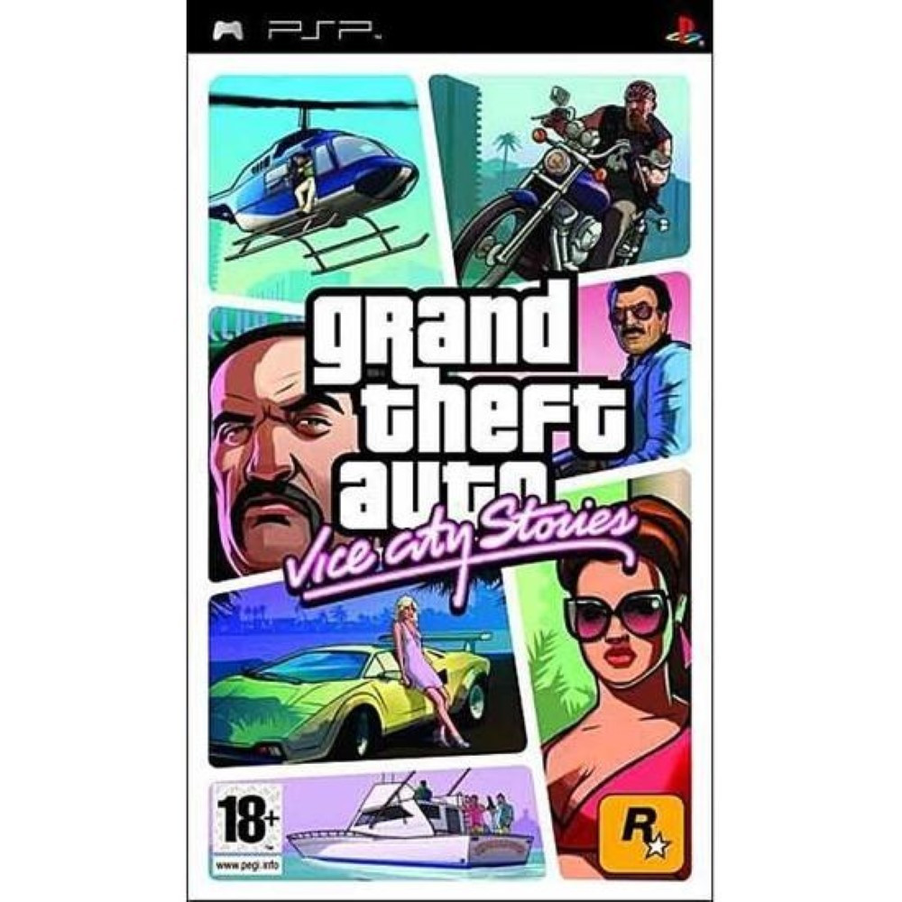 GRAND THEFT AUTO: VICE CITY STORIES PSP FR OCCASION