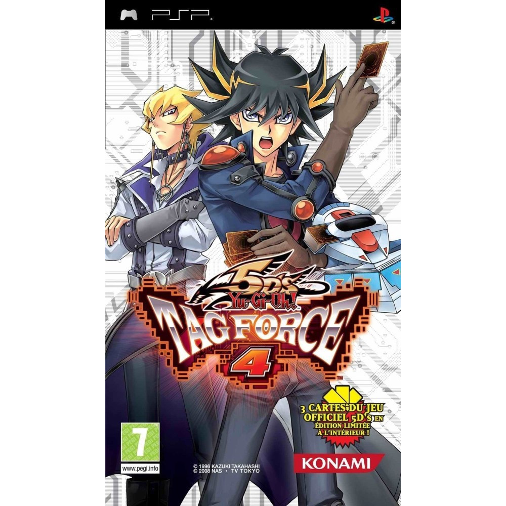 YU-GI-OH! TAG FORCE 4 PSP FR OCCASION