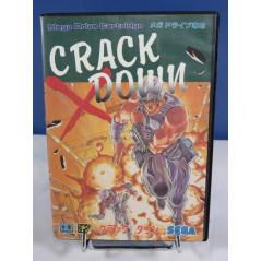 CRACK DOWN MEGADRIVE NTSC-JPN OCCASION