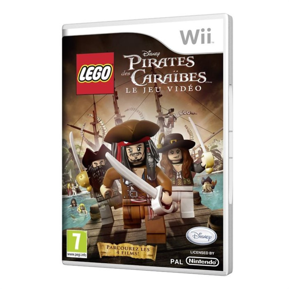 LEGO PIRATES WII PAL-FRA OCCASION