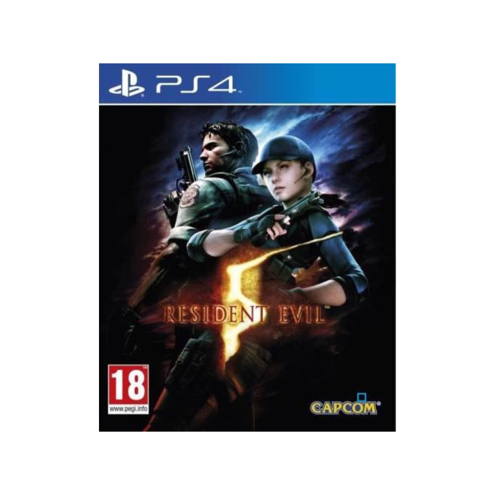 RESIDENT EVIL 5 PS4 FR OCCASION