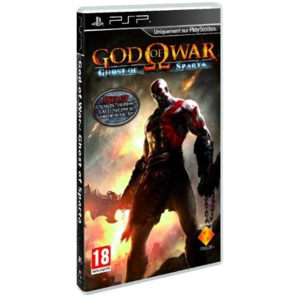 GOD OF WAR GHOST OF SPARTA PSP FR OCCASION(ETAT B)