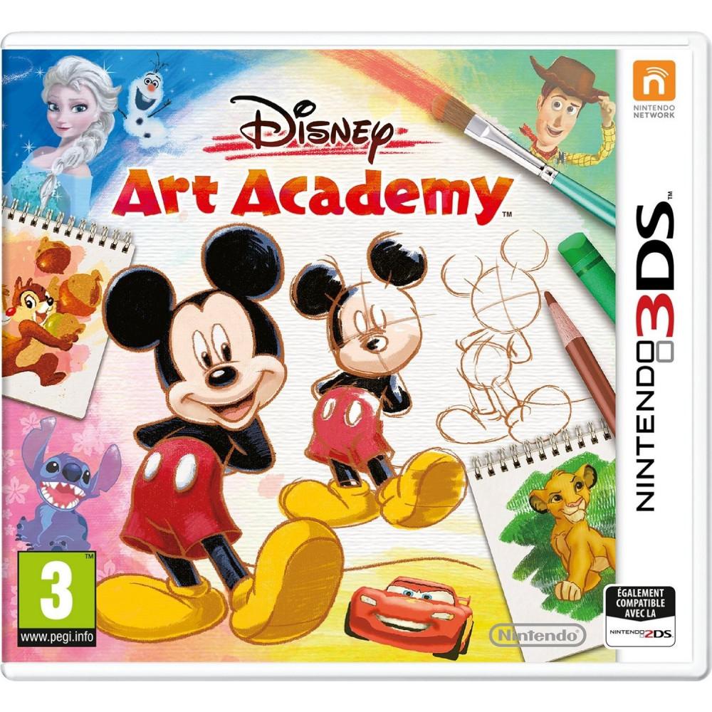DISNEY ART ACADEMY 3DS PAL-FR OCCASION