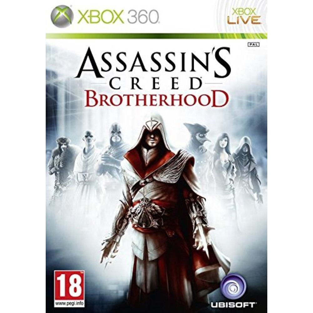 ASSASSIN'S CREED : BROTHERHOOD X360 PAL-FR OCCASION