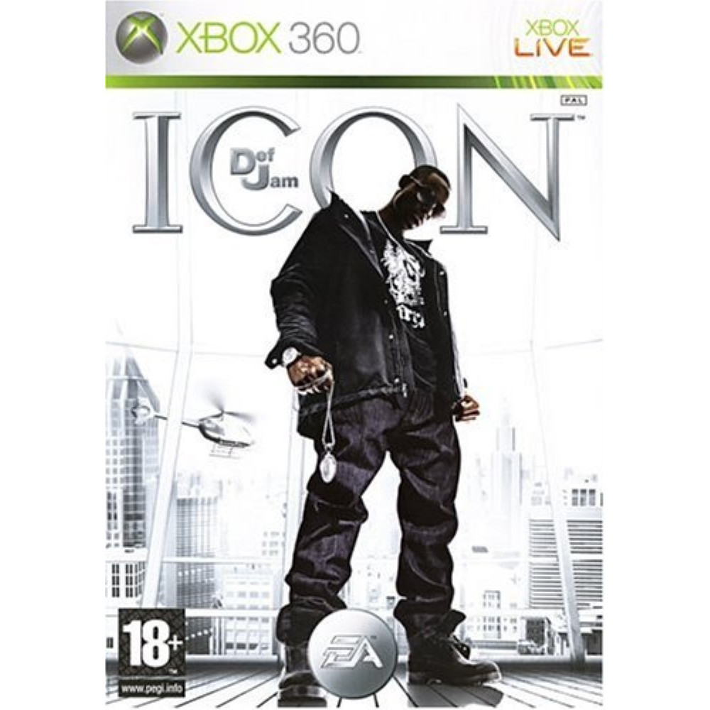 DEF JAM ICON XBOX 360 PAL-FR OCCASION