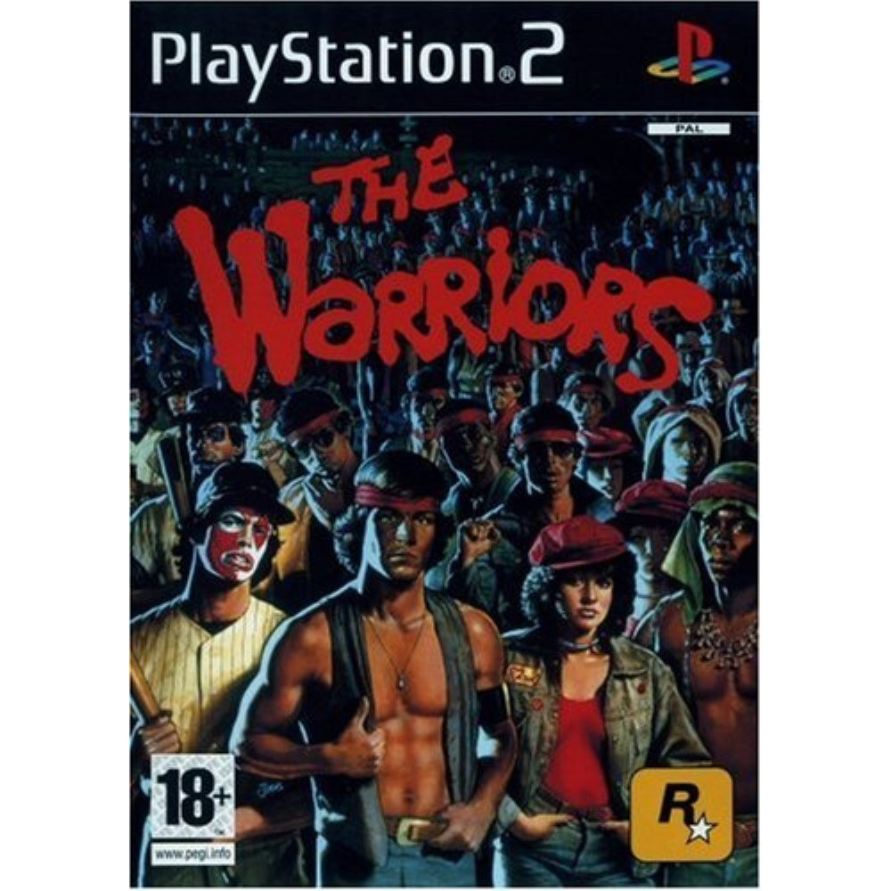 THE WARRIORS PS2 PAL-FR OCCASION