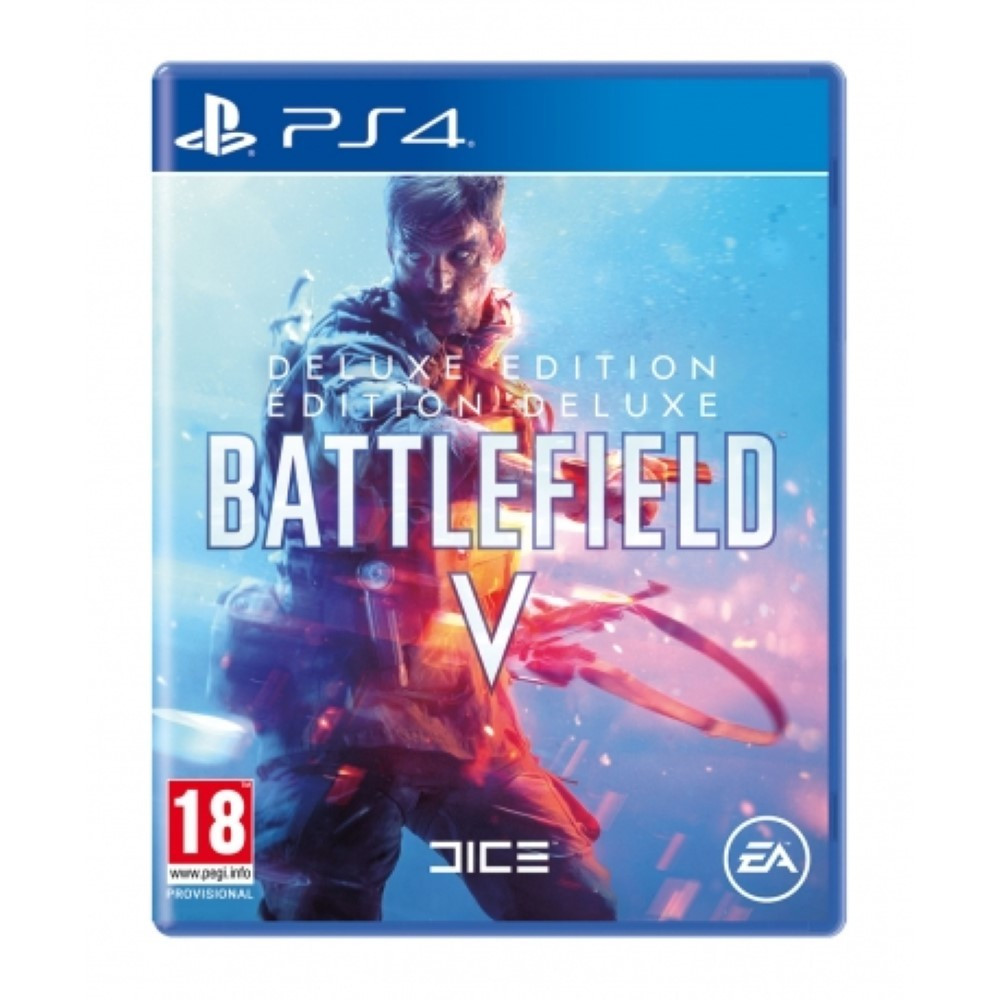 BATTLEFIELD V DELUXE EDITION PS4 UK NEW