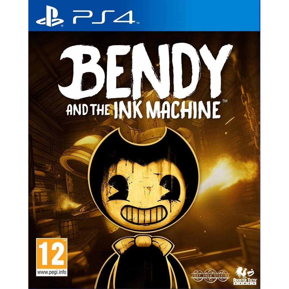 BENDY AND THE INK MACHINE PS4 FR NEW