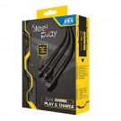 CABLE MICRO STEELPLAY 3 METRES PS4 EURO NEW