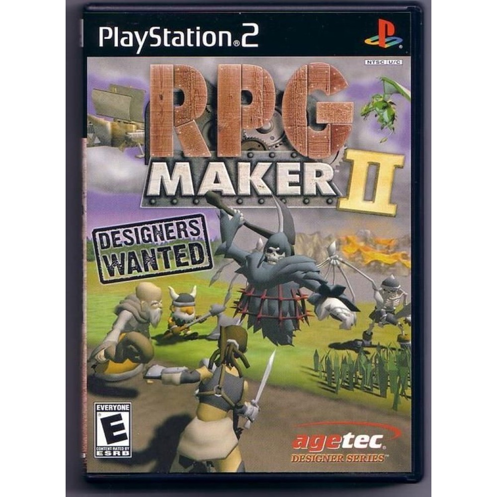 RPG MAKER II PS2 NTSC-USA OCCASION