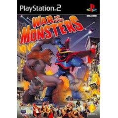 WAR OF THE MONSTERS PS2 PAL-FR OCCASION