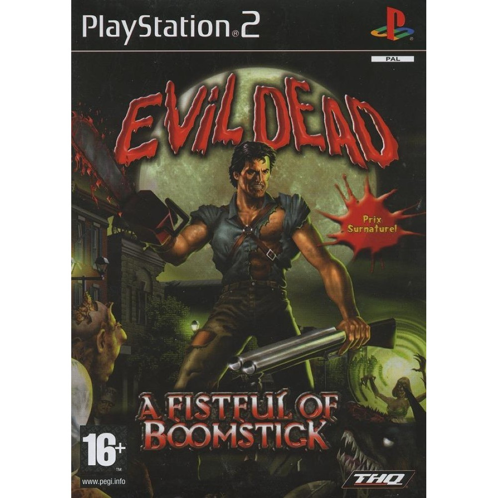 EVIL DEAD: A FISTFUL OF BOOMSTICK PS2 PAL-FR O CCASION