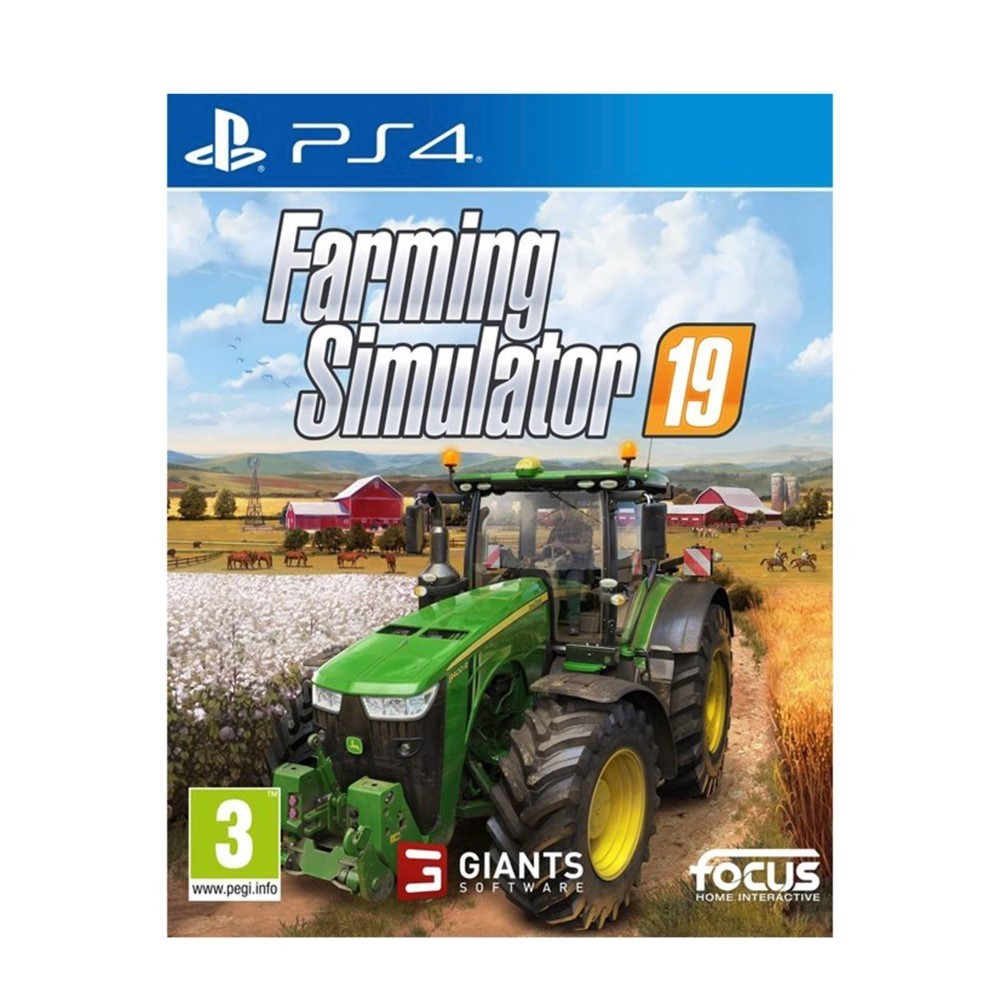 FARMING SIMULATOR 19 PS4 EURO FR NEW