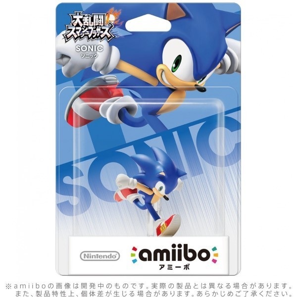 AMIIBO SUPER SMASH BROS SONIC JAP NEW