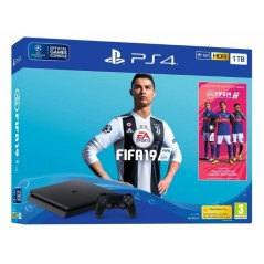 CONSOLE PS4 SLIM 1TO + FIF A 19 NEW
