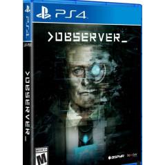 OBSERVER PS4 US NEW