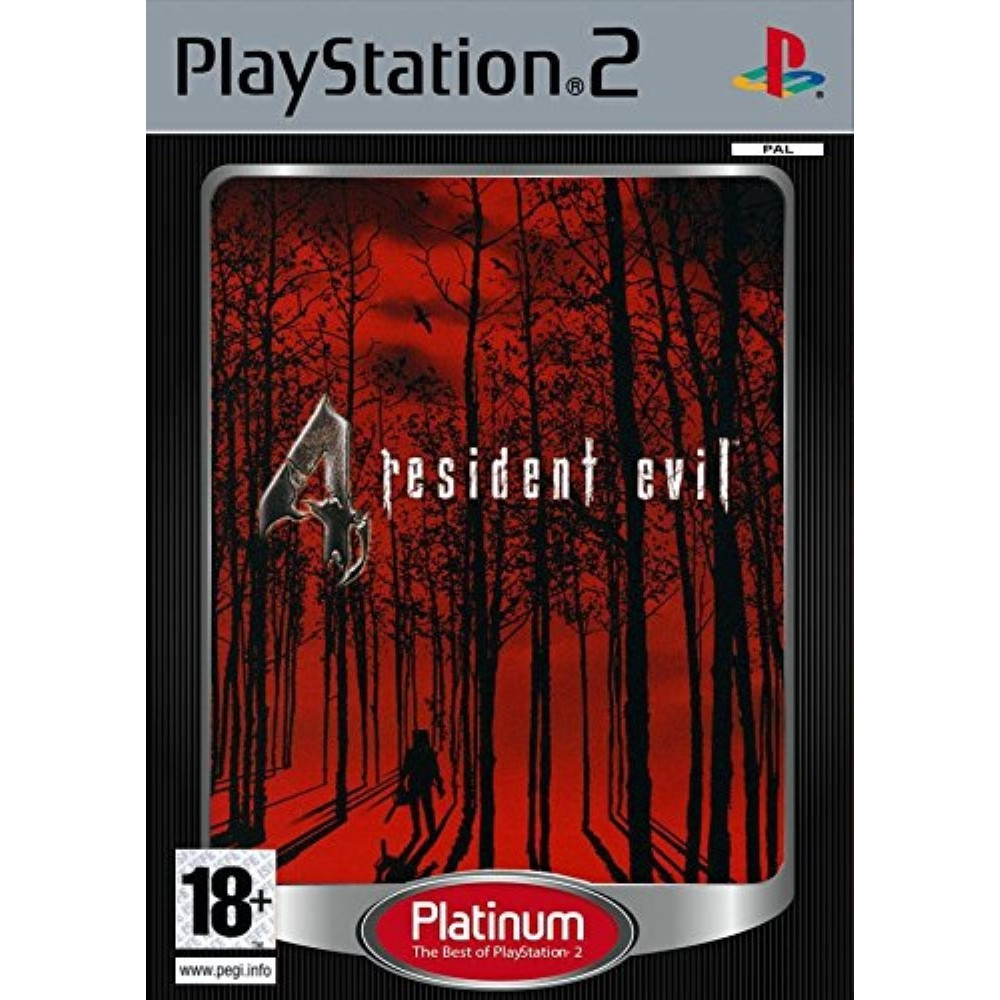 RESIDENT EVIL 4 PLATINIUM PS2 PAL FR OCCASION
