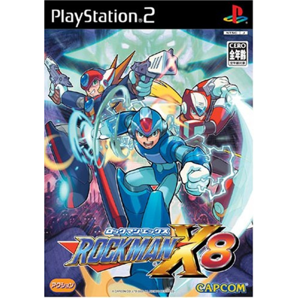 ROCKMAN X/8 PS2 NTSC-JPN OCCASION