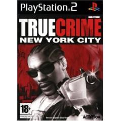 TRUE CRIME NEW YORK CITY PS2 PAL-FR OCCASION