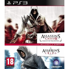 ASSASSIN'S CREED 2 GAME OF THE YEAR + ASSASSIN'S CREED PS3 FR OCCASION