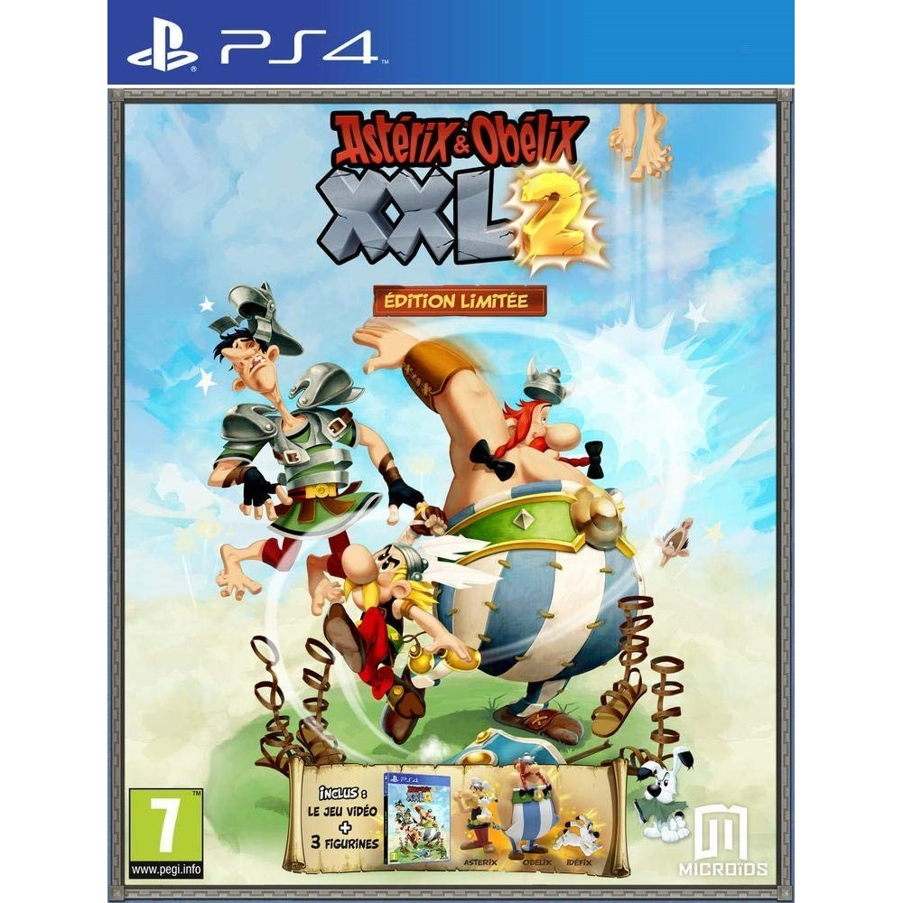 ASTERIX & OBELIX XXL 2 COGNER LA BAGARRE EDITION LIMITEE PS4 FR NEW