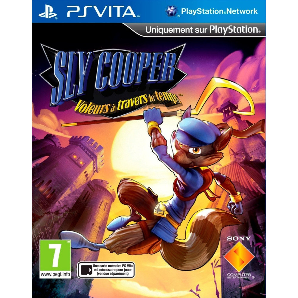 SLY COOPER THIEVES IN TIME PSVITA FR NEW