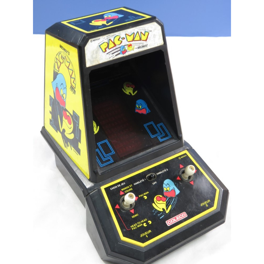 TABLE TOP LCD COLECO PAC-MAN MIDWAY (1982) OCCASION
