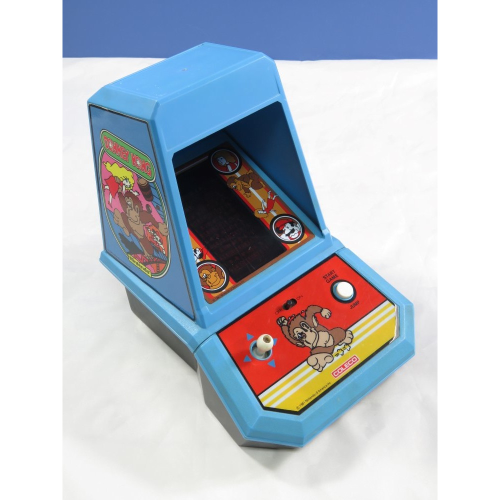 TABLE TOP LCD COLECO DONKEY KONG (1981) USA OCCASION (SANS CACHE PILES)