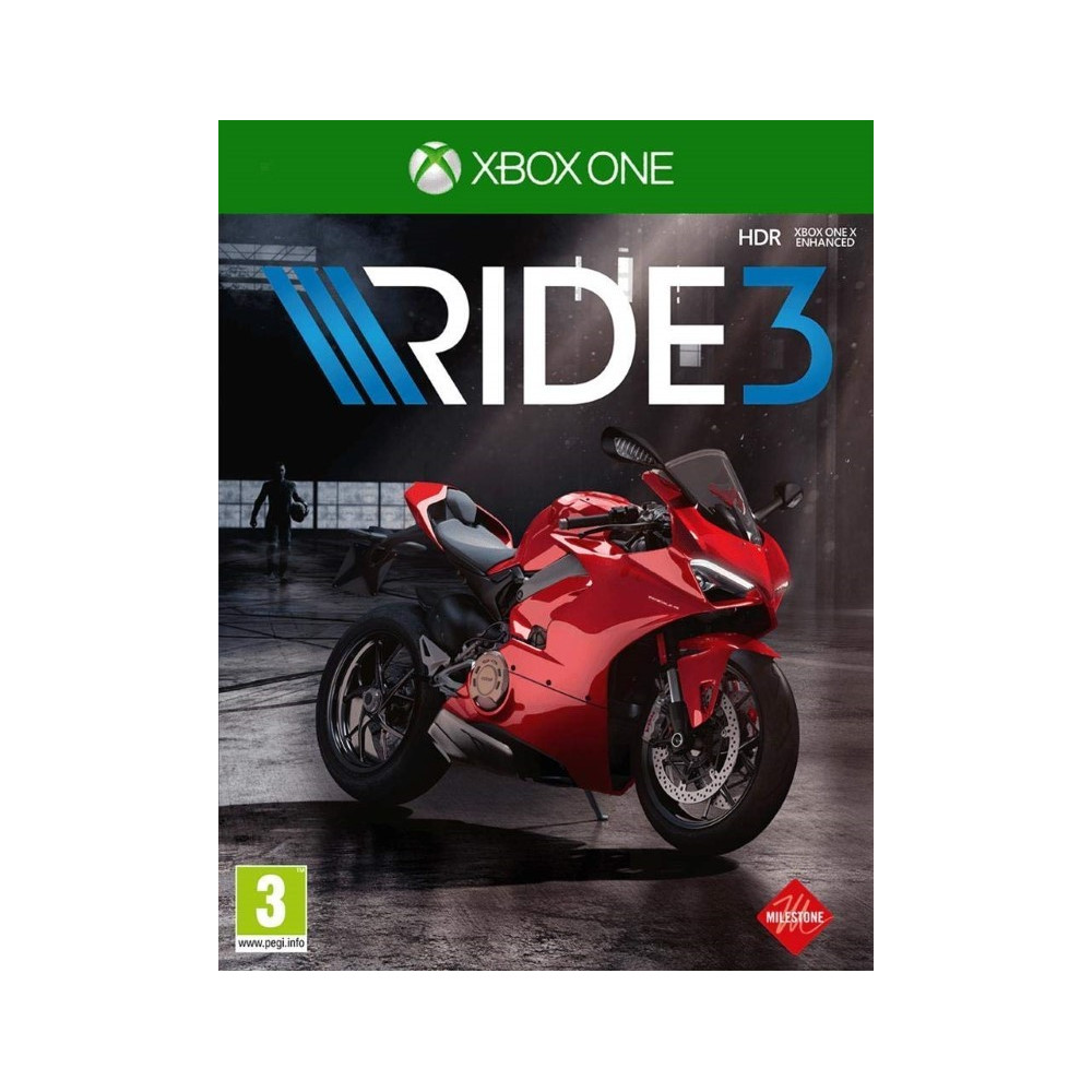 RIDE 3 XBOX ONE UK NEW