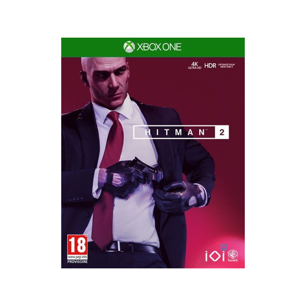 HITMAN 2 XBOX ONE EURO FR OCCASION