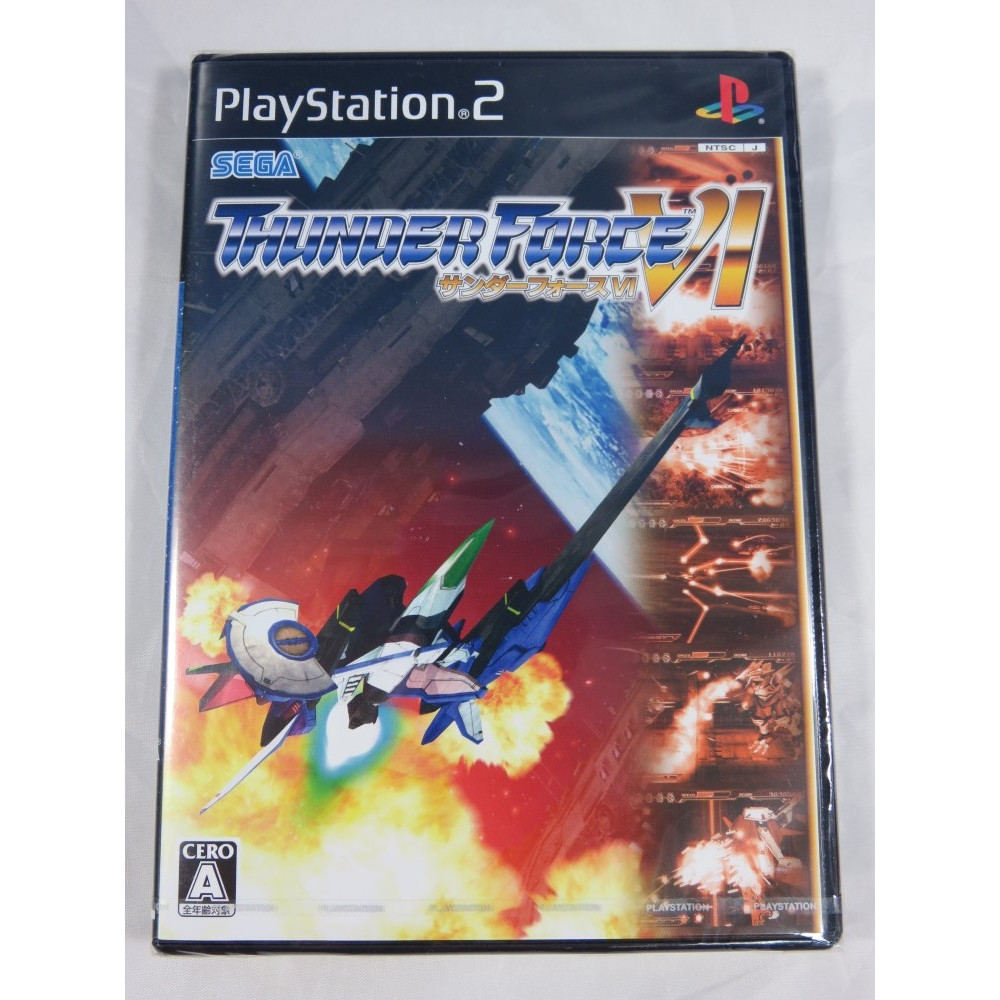 THUNDER FORCE VI PS2 NTSC-JPN NEW SEALED