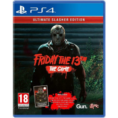FRIDAY THE 13TH THE GAME ULTIMATE SLASHER EDITION PS4 UK NEW
