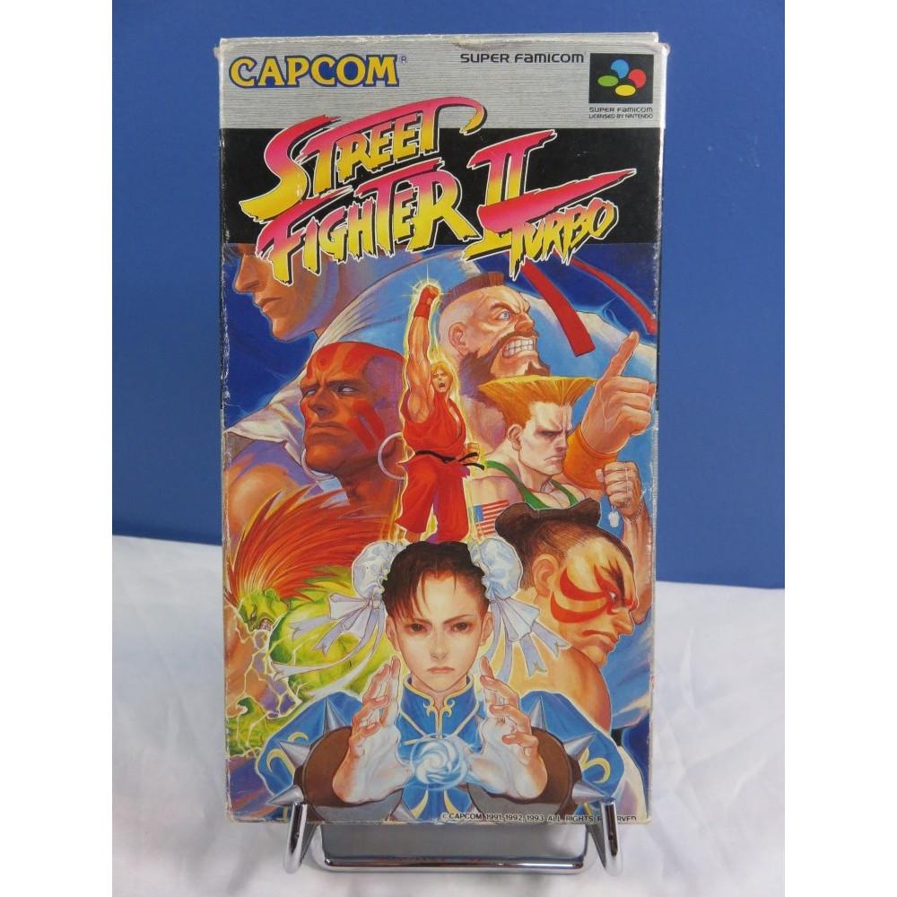 STREET FIGHTER II TURBO SFC NTSC-JPN OCCASION (ETAT B-)