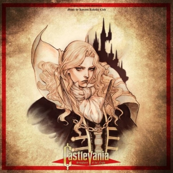 VINYLE CASTLEVANIA SYMPHONY OF THE NIGHT MONDO NEW