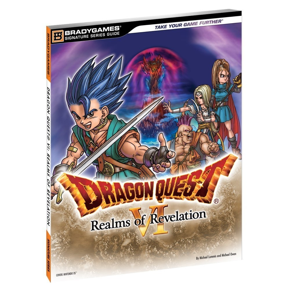 GUIDE DRAGON QUEST VI: REALMS OF REVELATION USA OCCASION