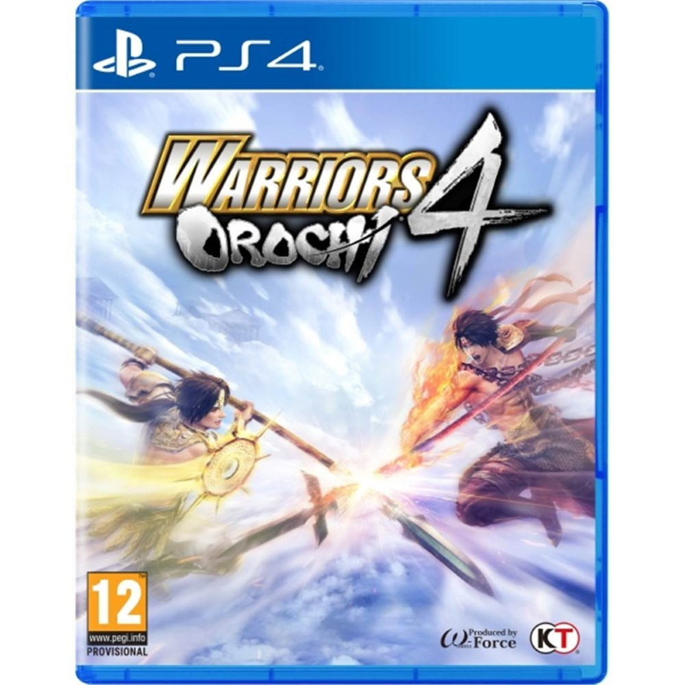 WARRIORS OROCHI 4 PS4 FR OCCASION