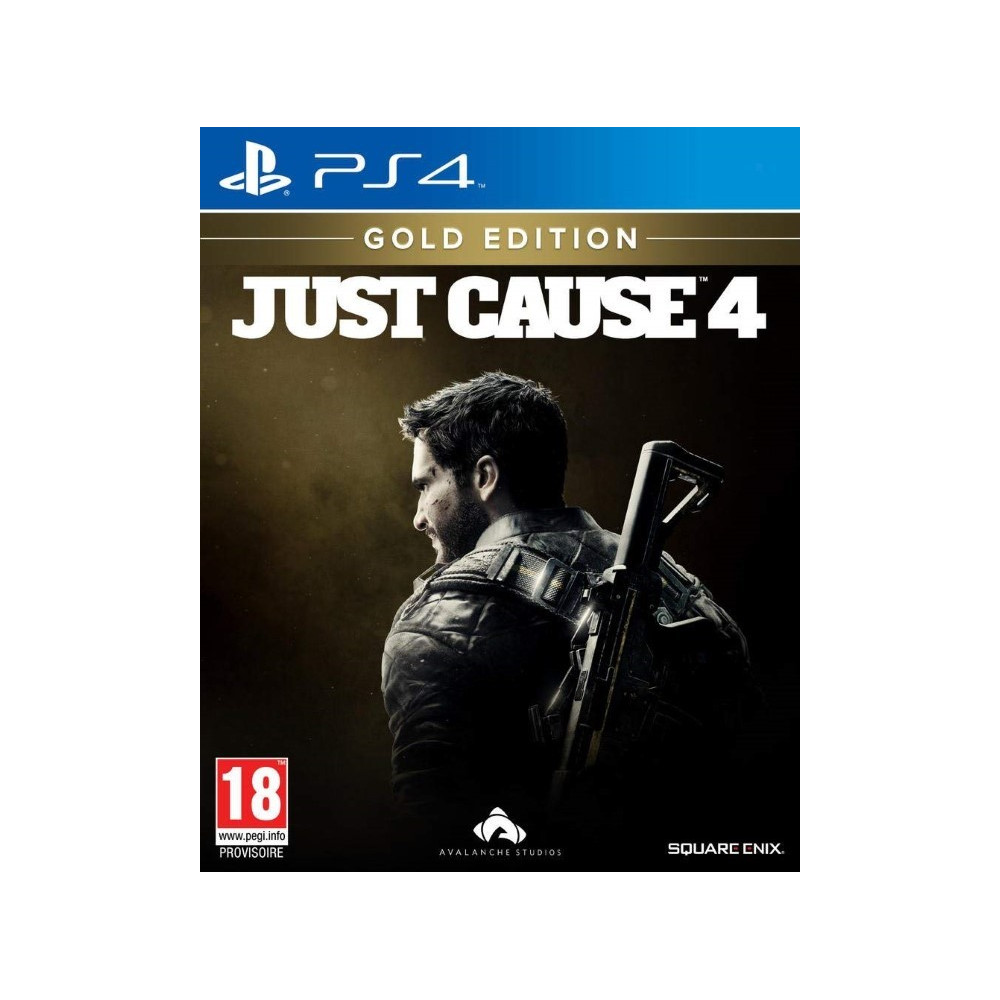 JUST CAUSE 4 EDITION GOLD PS4 FR NEW