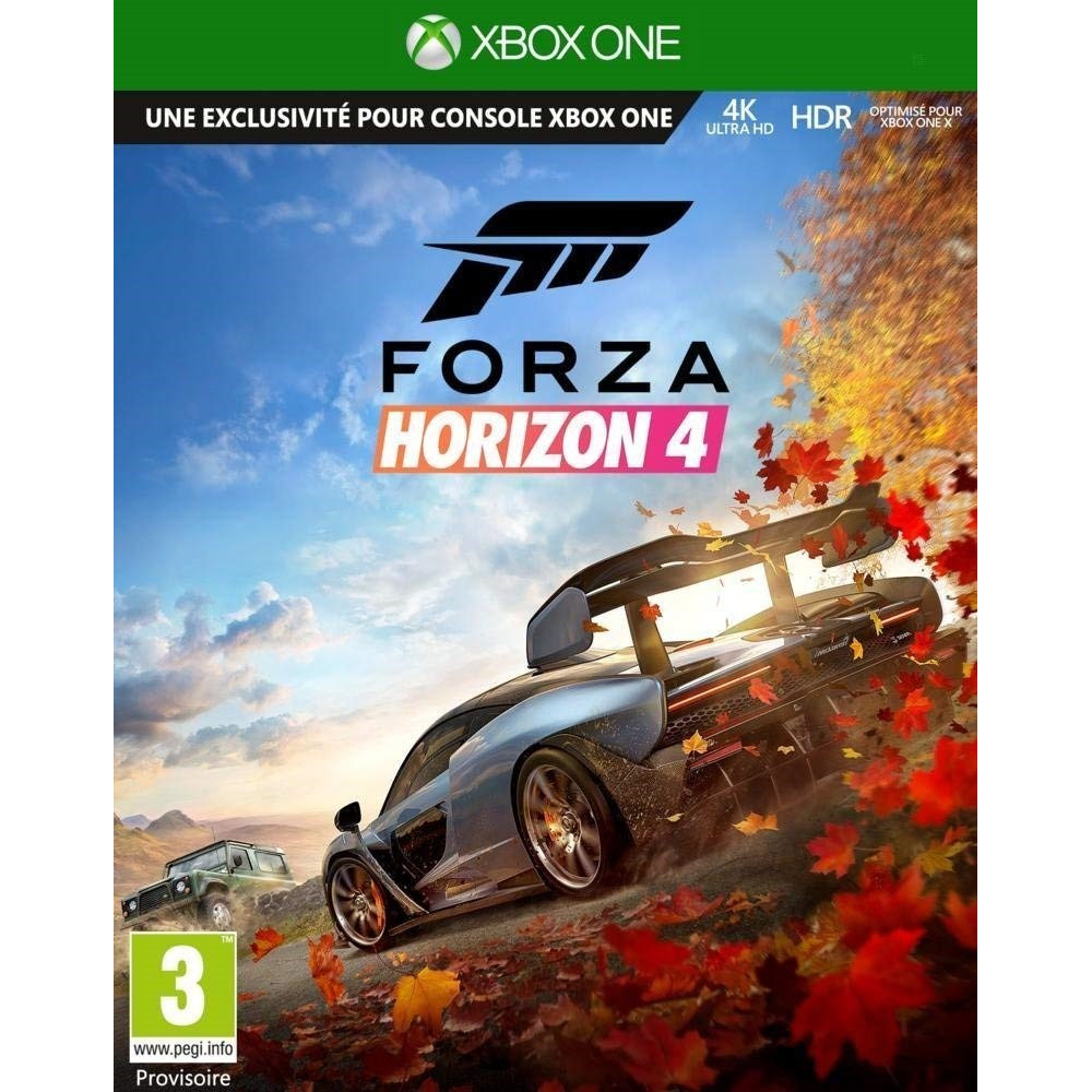 FORZA HORIZON 4 XBOX ONE FR OCCASION