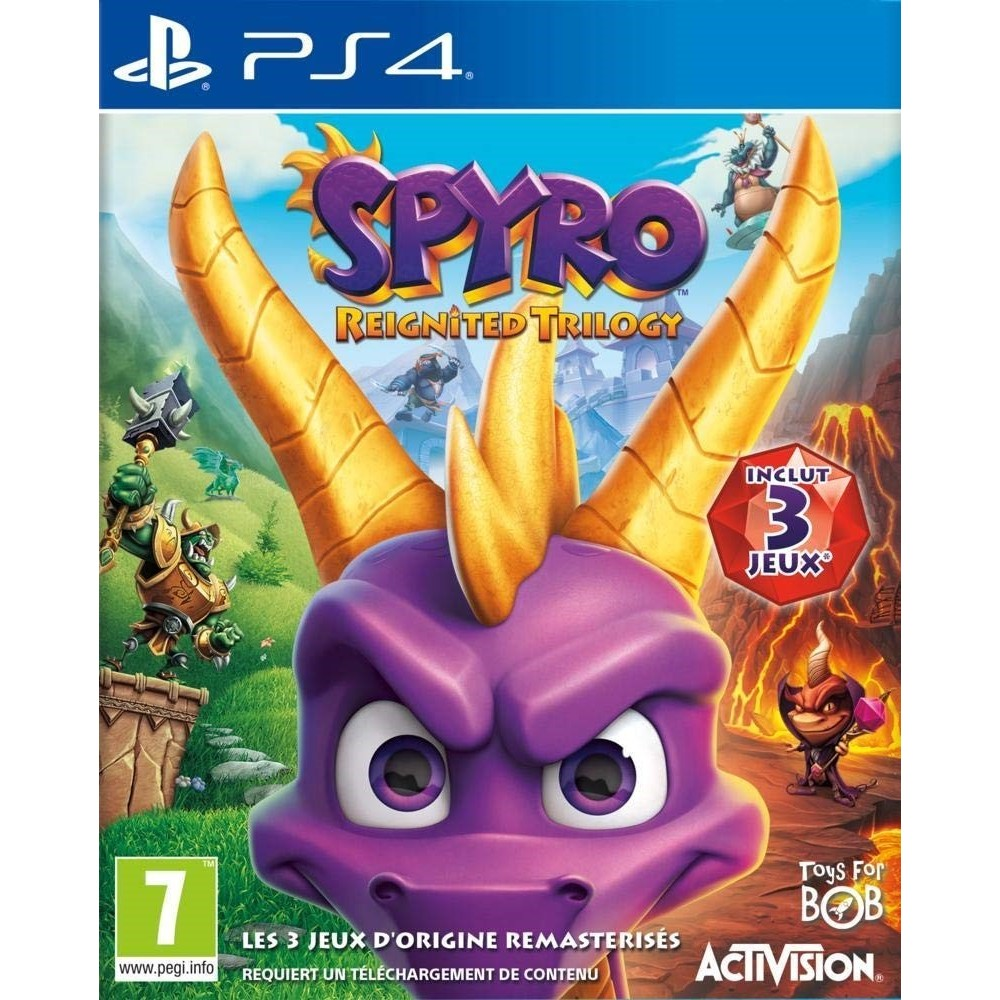 SPYRO REIGNITED TRILOGY PS4 FR OCCASION