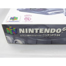 CONSOLE NINTENDO 64 CLEAR GRAY JUSCO 30TH ANNIVERSARY NTSC-JAPONAISE COMPLETE