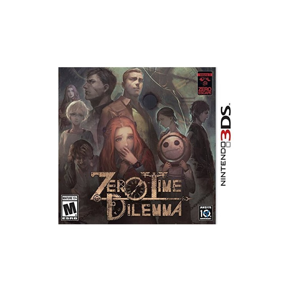 ZERO TIME DILEMMA 3DS US OCCASION