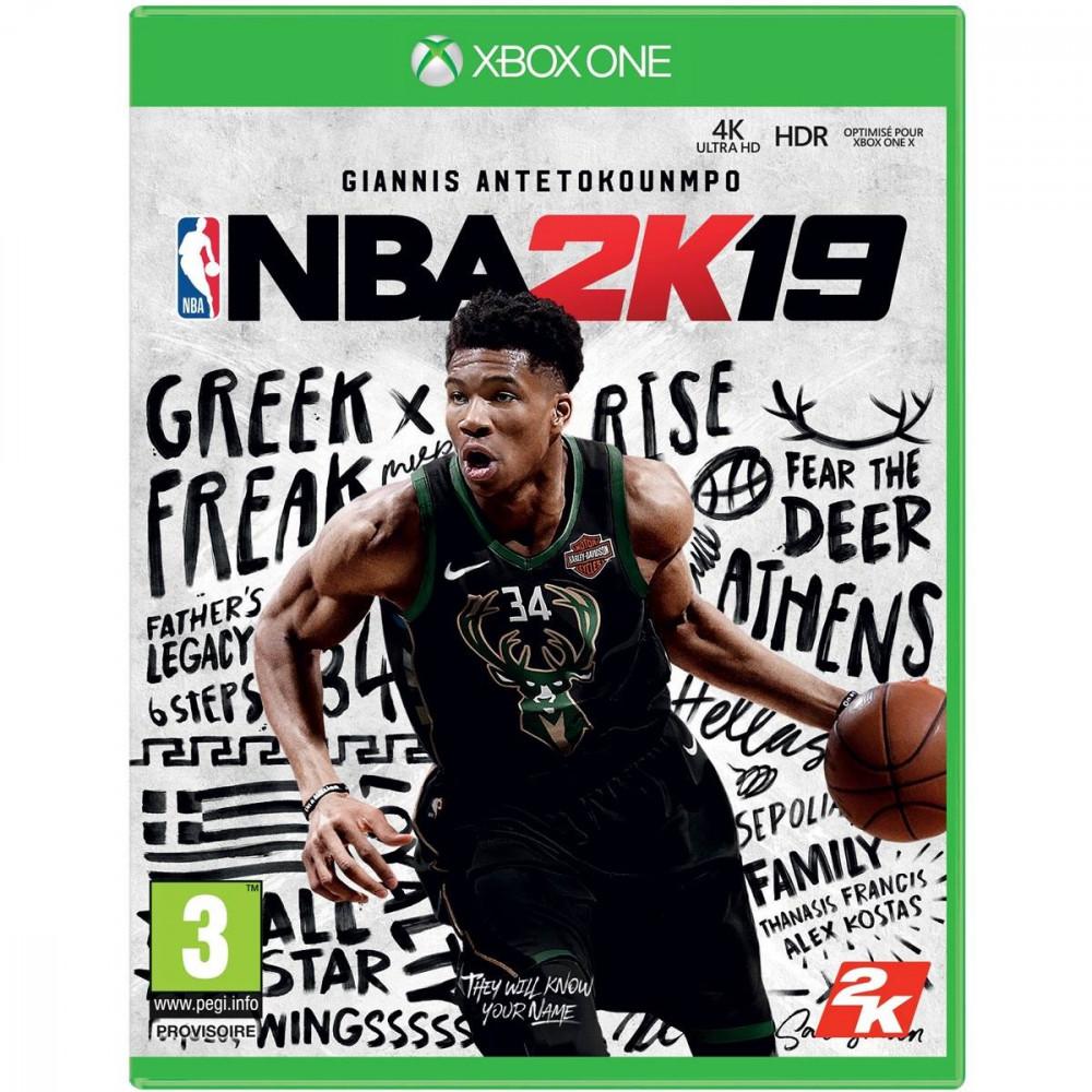 NBA 2K19 XBOX ONE FR OCCASION