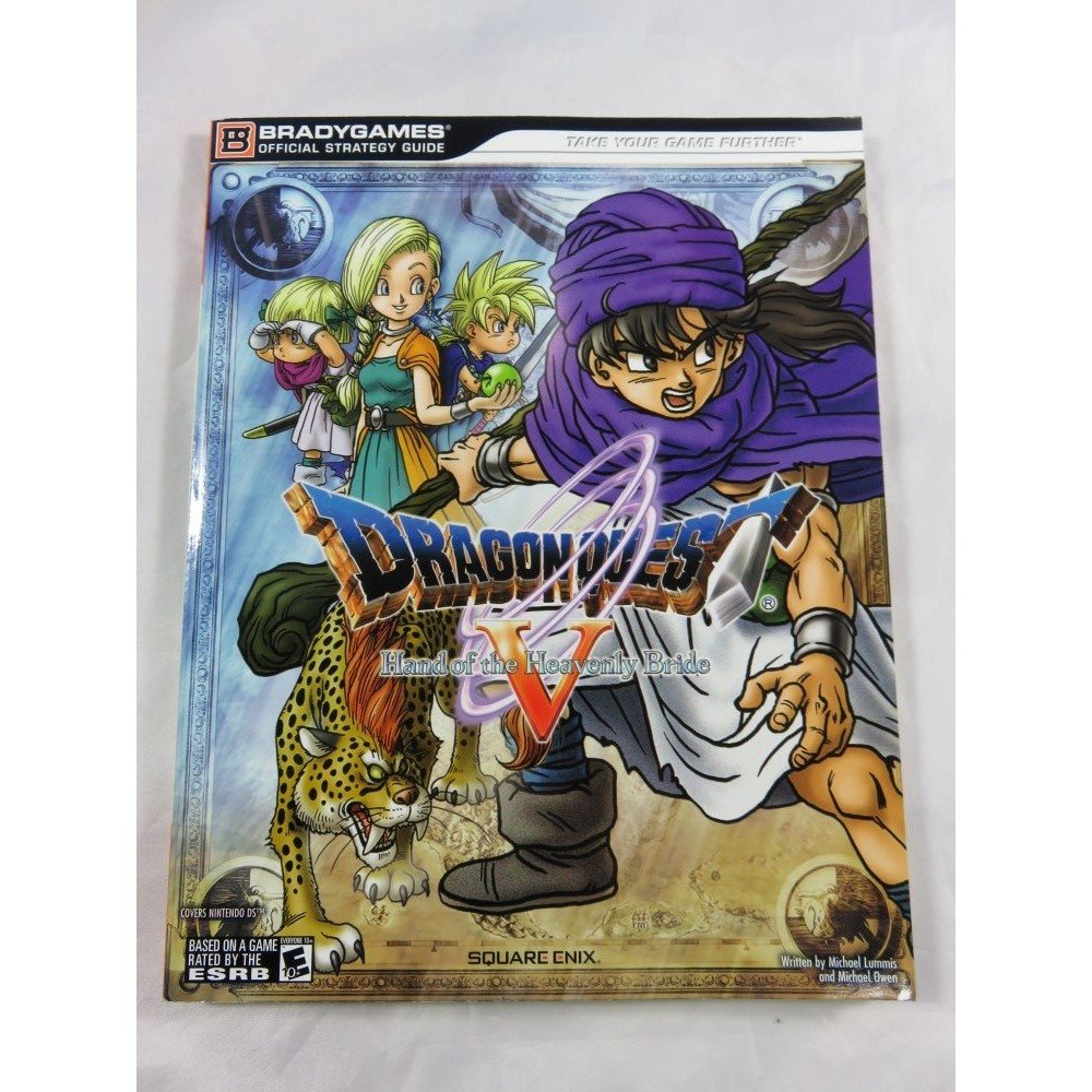 GUIDE DRAGON QUEST 5 NDS USA OCCASION