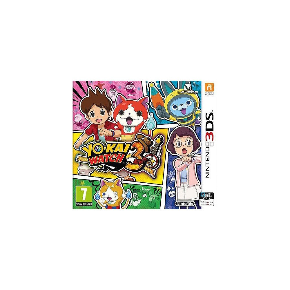 YO KAI WATCH 3 3DS FR NEW
