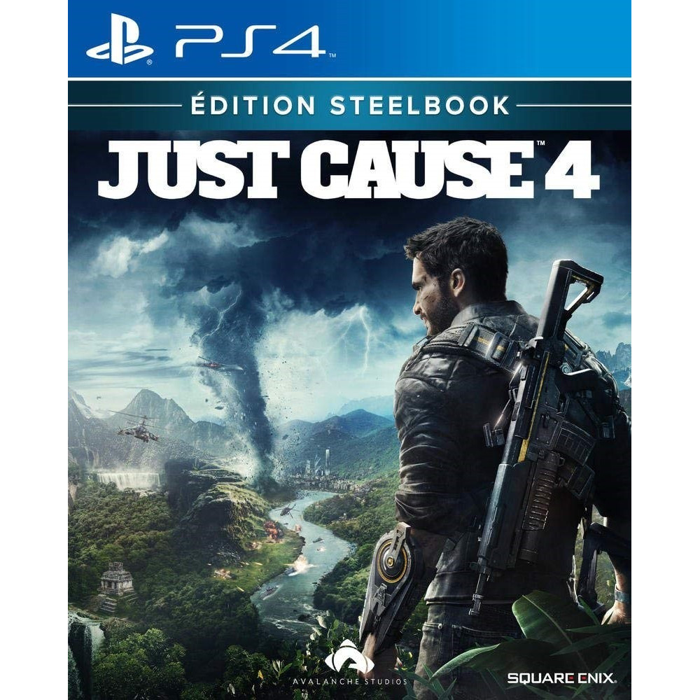 JUST CAUSE 4 EDITION STEELBOOK PS4 FR OCCASION