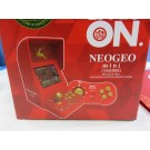 CONSOLE NEOGEO MINI LIMITED EDITION CHRISTMAS RED INTERNATIONAL 48 JEUX NEW